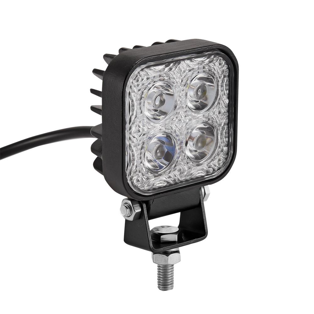 60 graden mini 12W 4 x 3W auto LED-lichtbalk als werklamp / - Autolichten - Foto 2
