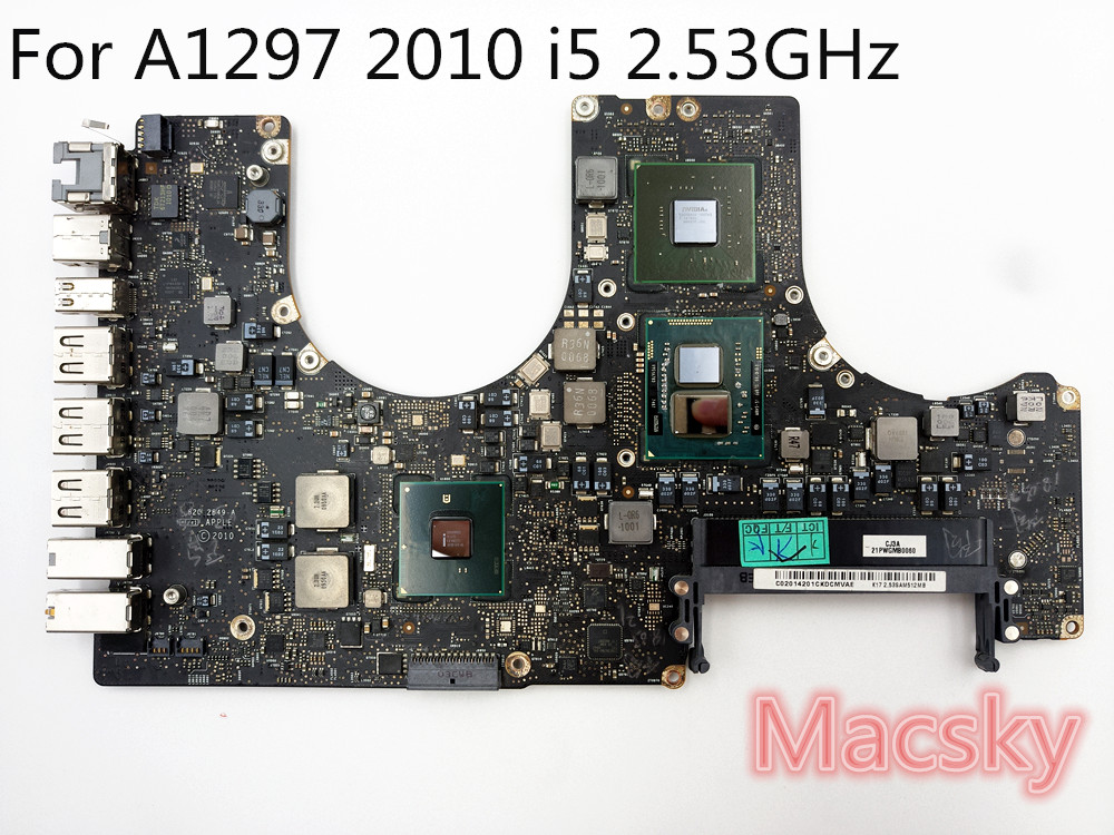 все цены на Tested Motherboard for MacBook Pro 17
