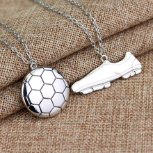 Football Boots Shaped Pendants 2 pcs Set