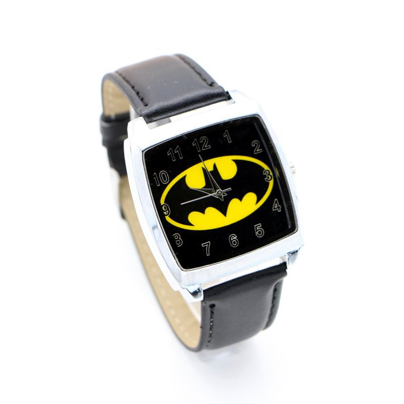 New Batman Quartz Kids Sports Fashion Cartoons Watch Wristwatch For Boy Students Christmas Relogio Watch