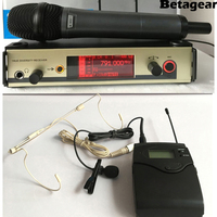 Betagear Free shipping 300G3 professional dynamic microphones uhf wireless microphone dj equipments microfonos ew mic wireless