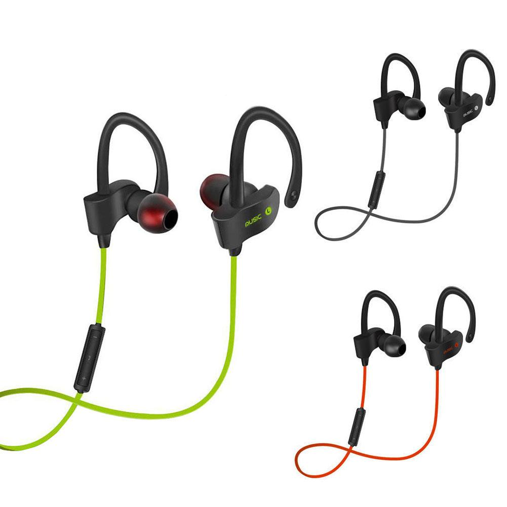 Sport Gym Wireless Bluetooth 4.1 Sweatproof Headset Stereo Headphone Earphone Wireless Bluetooth 4.1 Sweatproof image