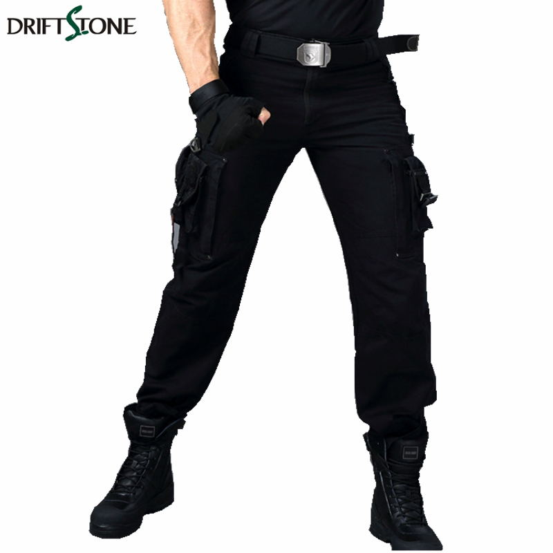 Men Military Pants SWAT Police Combat Tactical Cargo Pants Army Force 101th Airborne Airsoft Pockets Cotton Trousers
