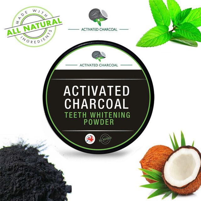 30g Teeth Whitening Powder Natural Organic Activated Charcoal Bamboo Toothpaste clareamento dental Health Care Teeth Whitening