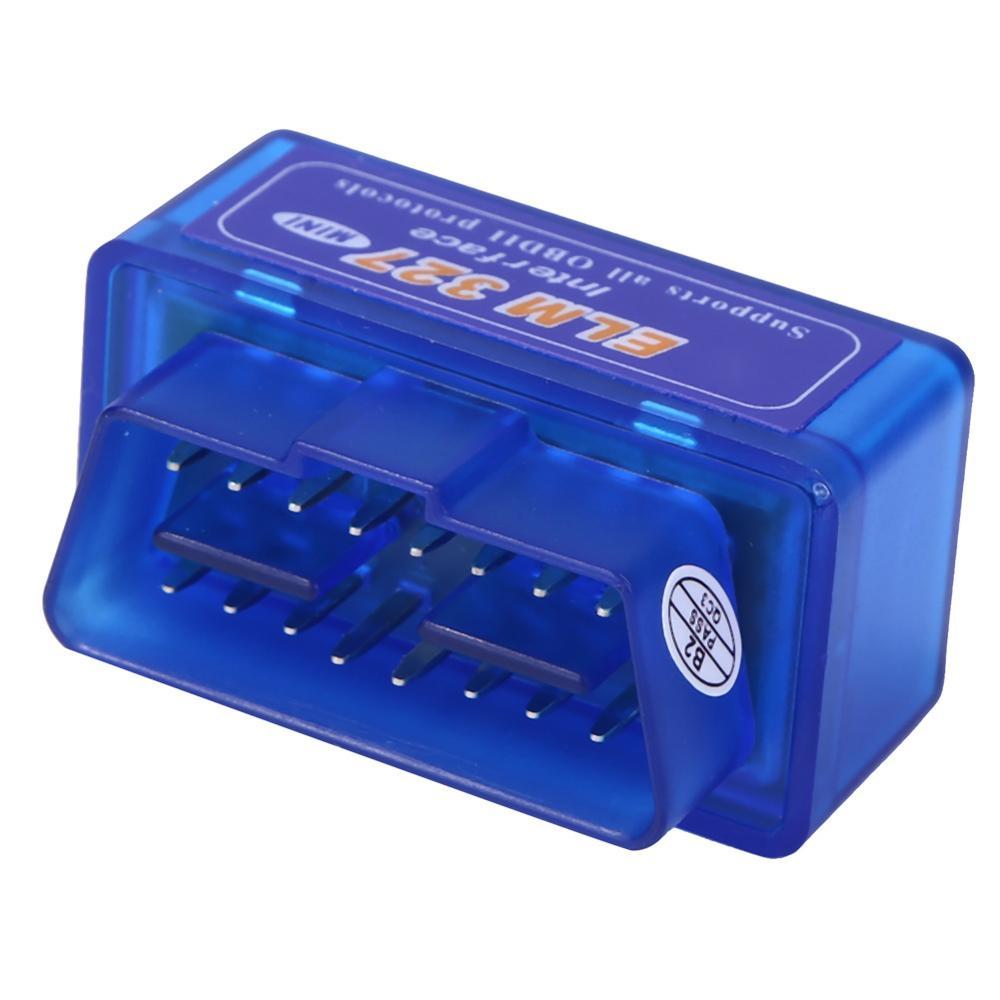 Супер Мини Elm327 Bluetooth OBD2 V2.1 Elm 327 V 2,1 OBD 2 Автомобильный диагностический инструмент сканер Elm-327 OBDII адаптер Авто диагностический инструмент