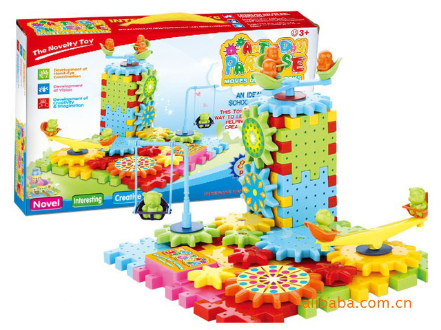 Free shipping / hot hot hot / very fun 81pcs/set  intelligence plastic educational blocks/new strange/Very funny toys