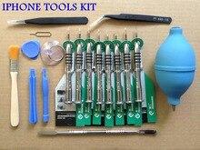 Repair Opening Tools Set Pentalobe Screw driver Phone Precision Magnetic Screwdriver 18 In 1 for Apple iphone Macbook Air torx