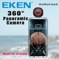EKEN Newest Arrival 360 Camera VR Camera 1920*960 Ultra HD Mini Panorama 360 Degree video Cam For Andriod Smartphone