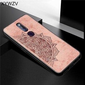 Image 3 - Pour OPPO A9X coque antichoc souple Silicone luxe tissu Texture coque de téléphone pour OPPO A9X couverture de téléphone pour OPPO A9 X Fundas