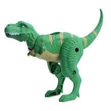 Transform Simulation Dinosaur Toy Model Deformed Dinosaur Egg Collection Gift deformation figurines fossil blokcs D300115(China)