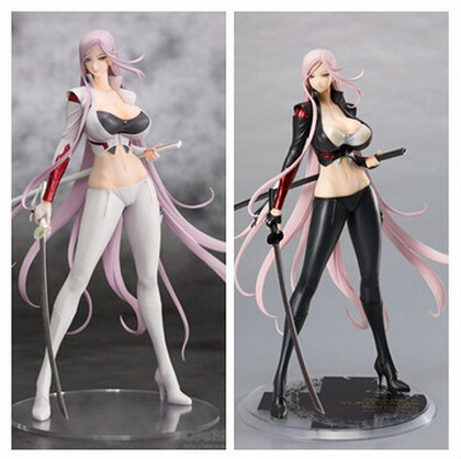 цена NEW hot 32cm sexy adult Triage X Yuka Sagiri 1/7 Scale Darkness/ White Ver. collectors action figure toys Christmas with box