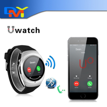Bluetooth smart watch Uo Armbanduhr U smartWatch für Für iPhone 4/4 S/5/5 S/6 und Samsung S4/Note/s6 HTC Android Phone Smartwatch