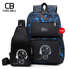 Nylon Waterproof School Backpack Backpack For Girls Schoolbag Children School Bags For Boys Sling Chest Bag Kids Shoulder Bag цены онлайн