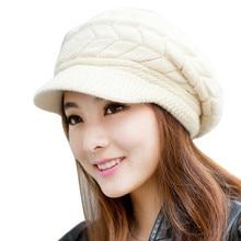Llhids женская шапка зимняя Skullies Beanies вязаная шапка из кроличьего меха Солнцезащитная шапочка, кепка для женщин Женская шляпка gorros Mujer Inviern BL