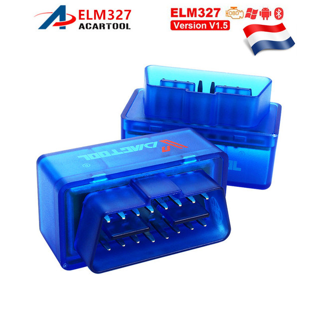 ELM327 V2.1 Bluetooth OBD OBD2 Code Reader CAN-BUS Supports Multi-Brand Cars ELM 327 BT V2.1 Works Android/PC C