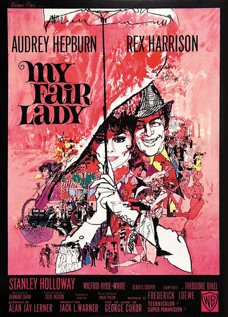 f6850cb356f3d2 20th Century Old Movie Film My fair Lady Classic Canvas Paintings Vintage  Wall Posters Stickers Home