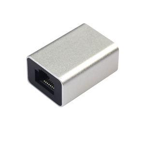 Image 4 - Сетевой разъем Cat6 из алюминиевого сплава Rj45 8P8C, соединительная муфта для подключения к гнезду, соединительный кабель Lan, удлинитель шнура