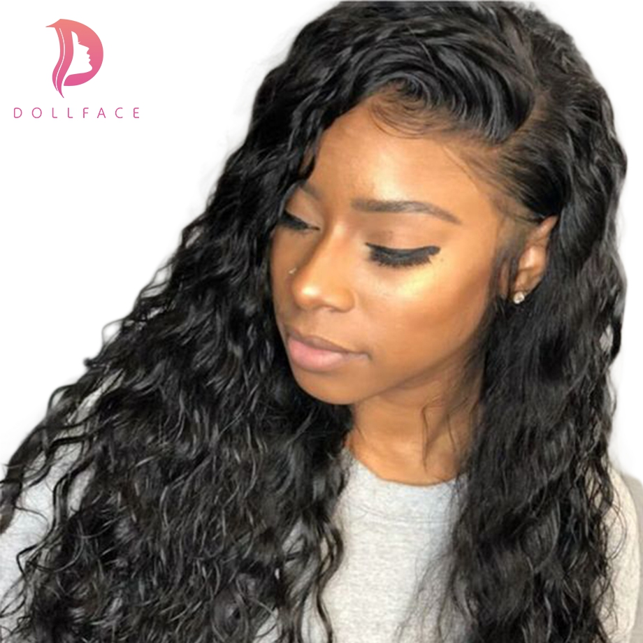 360 Lace Front Human Hair Wigs For Black Women Pre Plucked with Baby Hair Deep Wave