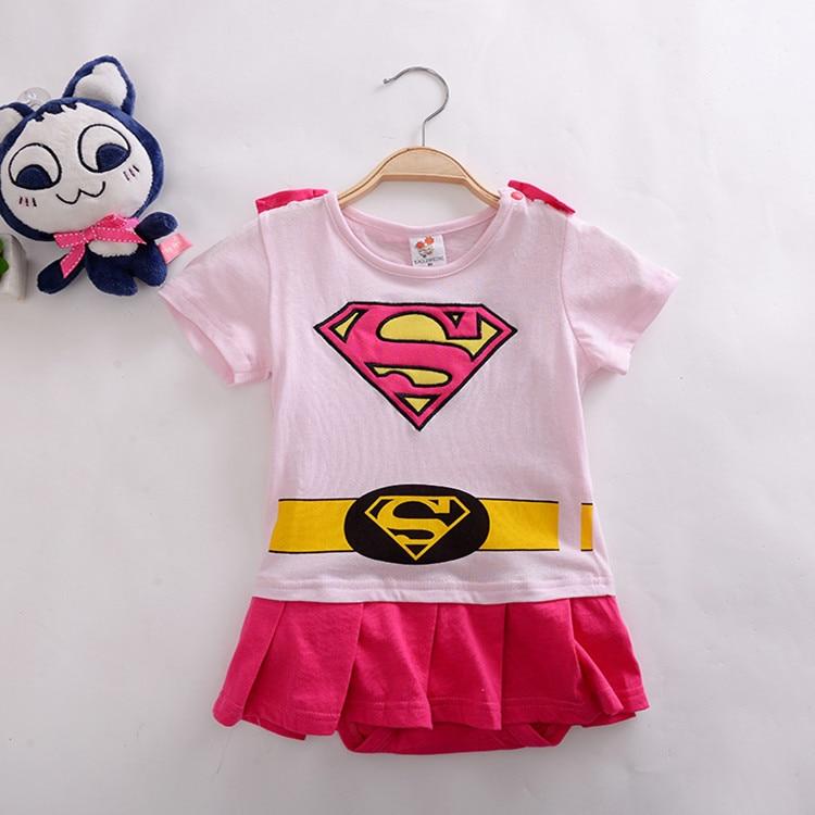 c05c601f8 Newborn Baby Boy Cartoon Superman Batman Romper Party Outfits Fancy Costume  Superhero Kid Girls Clothes Cloak Decor Boys Rompers