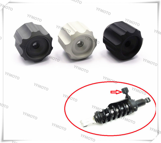 1 PCS Motorcycle Adjustable Shock Damper Bolt Screw For B M W R1200GS R 1200GS LC 2014 2015 2016 Aluminium