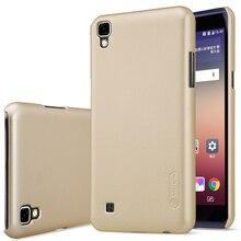Nillkin матовый тонкий телефон чехол для LG x Power задняя крышка для LG K220DS K220 LS755 US610 Жесткий Матовая Случаи и Экран фильм