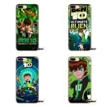 Für iPod Touch Apple iPhone 4 4 S 5 5 S SE 5C 6 6 S 7 8 X XR XS Plus MAX Weiche Silikon TPU Fall cartoon Tennyson Ben 10 Alien Force(China)