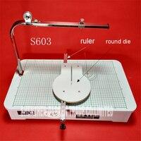 S603 High Quality 220 V Hot wire foam cutter foam cutting machine tool Working table 59* 33*23 cm