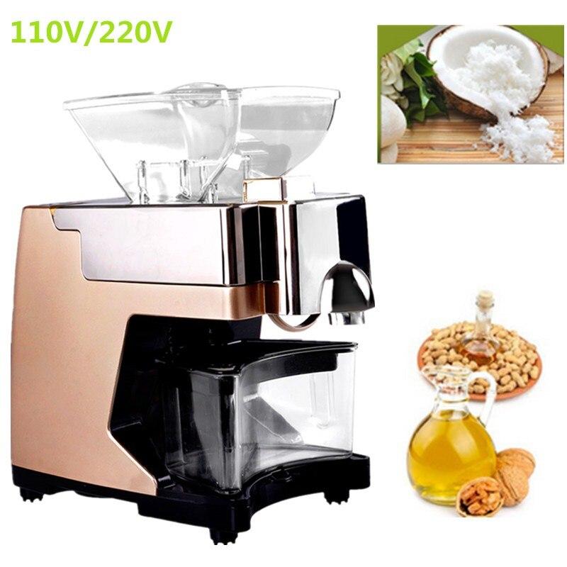 Machine automatique d'huile de presse à froid d'huile de noix de coco d'olive à la maison