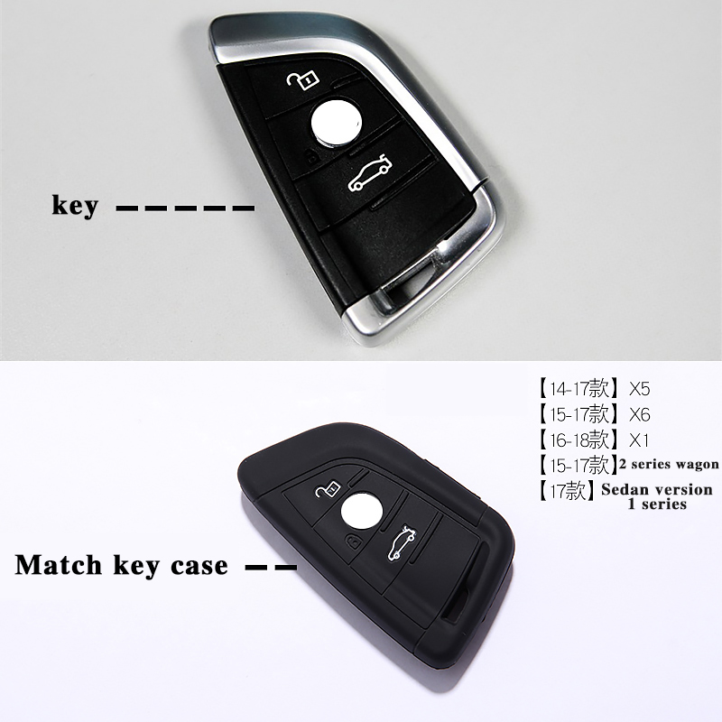 BMW Silica gel Key Cover New for 5 Series New 7 Series(China)
