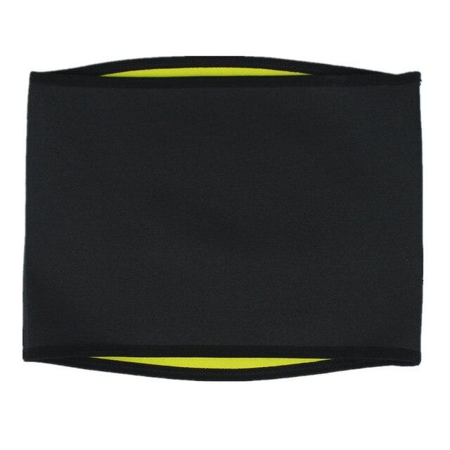 Men's Body Shapers Belt Sweat Sauna Neoprene Running Fitness Sports New Waist Trainer Control Corset Slimming Belt Waist Trimmer 2