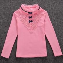 Girls Long-Sleeve Blouse For School