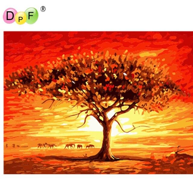 Dpf Bilder Malen Nach Zahlen Diy Digitale Leinwand Olgemalde