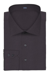 Image 5 - מכירה חמה 100% צווארון כותנה תשעה צבעים פראק ושני כפתור קאף slim fit מכס לעצב חולצה משלך