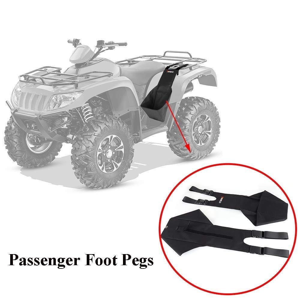 KEMiMOTO Footrest Rear Passenger Foot Pegs foots rest for Polaris Sportsman 400 500 800 850