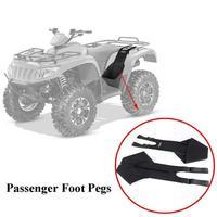 KEMiMOTO Footrest Rear Passenger Foot Pegs foots rest for Polaris Sportsman 400 500 800 850