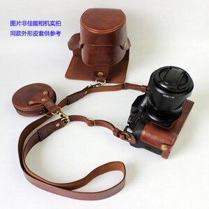 Image 5 - נייד באיכות גבוהה עור מפוצל מצלמה מקרה כיסוי עבור Canon EOS 90D 80D 70D 60D 80DII עם אחסון תיק תחתון פתיחה מקרה