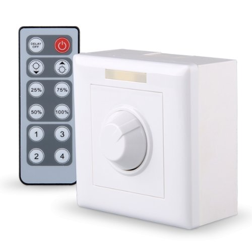 NFLC IR Remote LED Light Lamp Dimmer Control Controller 12 Keys 12V