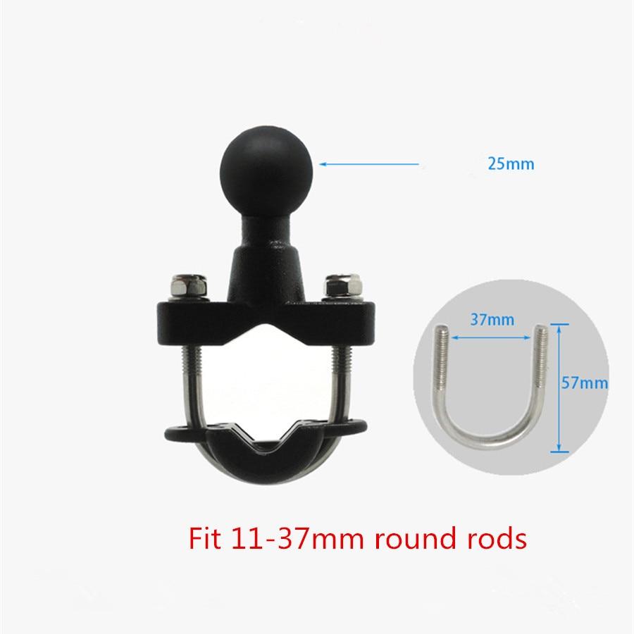 Jadkinsta Generic Quality Plastic Motorcycle Handlebar Rail Mount X-Grip Cell Phone Smartphone Holder for iPhone for ram mounts - ANKUX Tech Co., Ltd