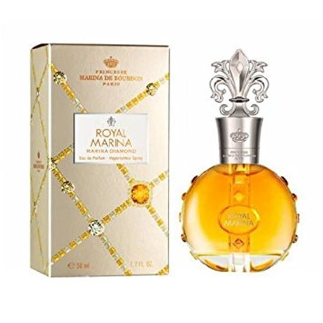 Marina De Bourbon 297111 Marina De Bourbon Royal Marina Diamond Eau De Parfum Spray - 3.4 oz невидимки royal diamond заколка
