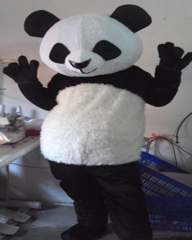 Adult bear costume panda prompt