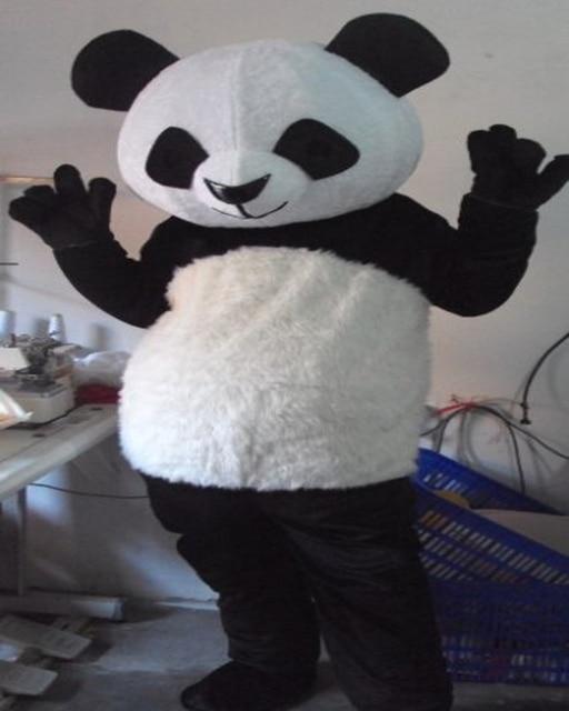 Adult bear costume panda idea