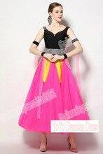 Customized Lady Ballroom Dancing Dress,Modern Dance Competition Costume,Waltz Tango Foxtrot Quickstep DANCE DRESS,