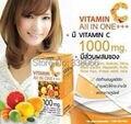 Frete grátis vitamina C de 1000 MG de rosa mosqueta de zinco de uva ANTI-OXIDANT clareamento da pele