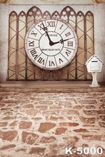 5*7ft Dream Wedding Background Vintage Digital Photos Studios 1.5*2m Backdrops Muslin Photographic Clock Decor Backdrops