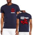 2017 marca summer clothing moda encontrar francis t-shirt hombre divertido deadpool algodón casual tops harajuku camisetas hombre homme mma
