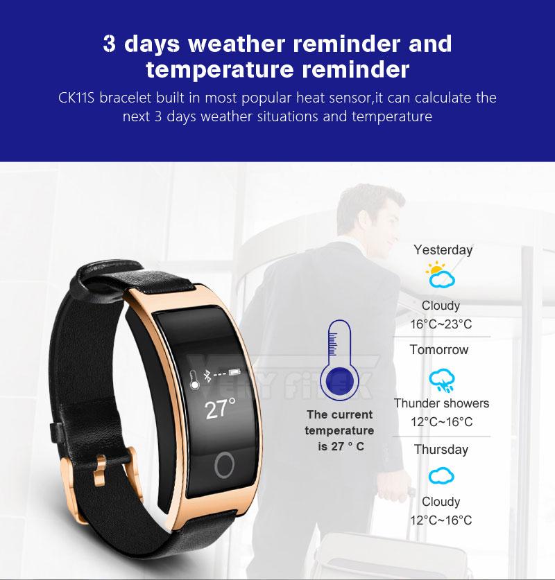 VERYFiTEK CK11S Fitness Bracelet Blood Pressure Smart Wristband heart rate monitor pulsometer Bracelets for xiomi pk fit bit-01 (7)