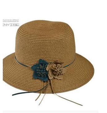2018 fran Brandis plage H1-H3 d'été chapeau chapeau femme Coréenne grand le long du soleil ombrage chapeau capeline en plein air en plein air voyage