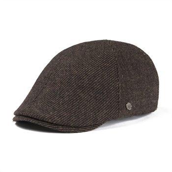 535965cd0c9 VOBOOM Flat Cap Wool Tweed Ivy Caps Men Women Large Plaid Beret Hat Autumn  Winter Cabbie Driver Baker Hats 180