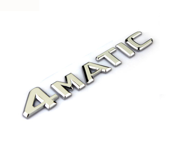 Auto car 4Matic 4 Matic for Mercedes Rear Emblem Decal Badge Sticker A 220 817 08 15 AAA Quality image