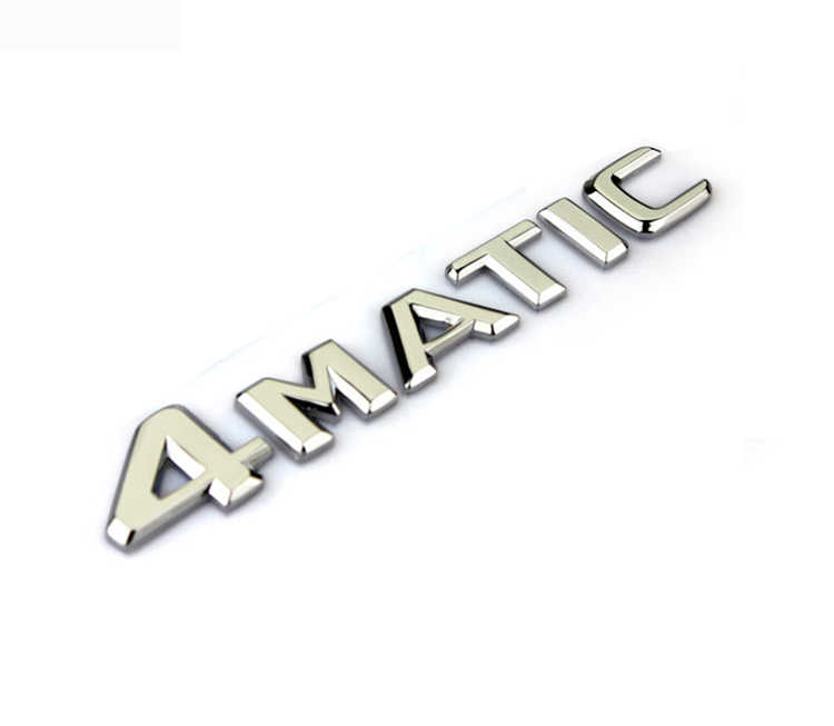 Auto voiture 4 Matic 4 Matic pour Mercedes Arrière Emblème Autocollant Autocollant D'insigne Un 220 817 08 15 AAA Qualité
